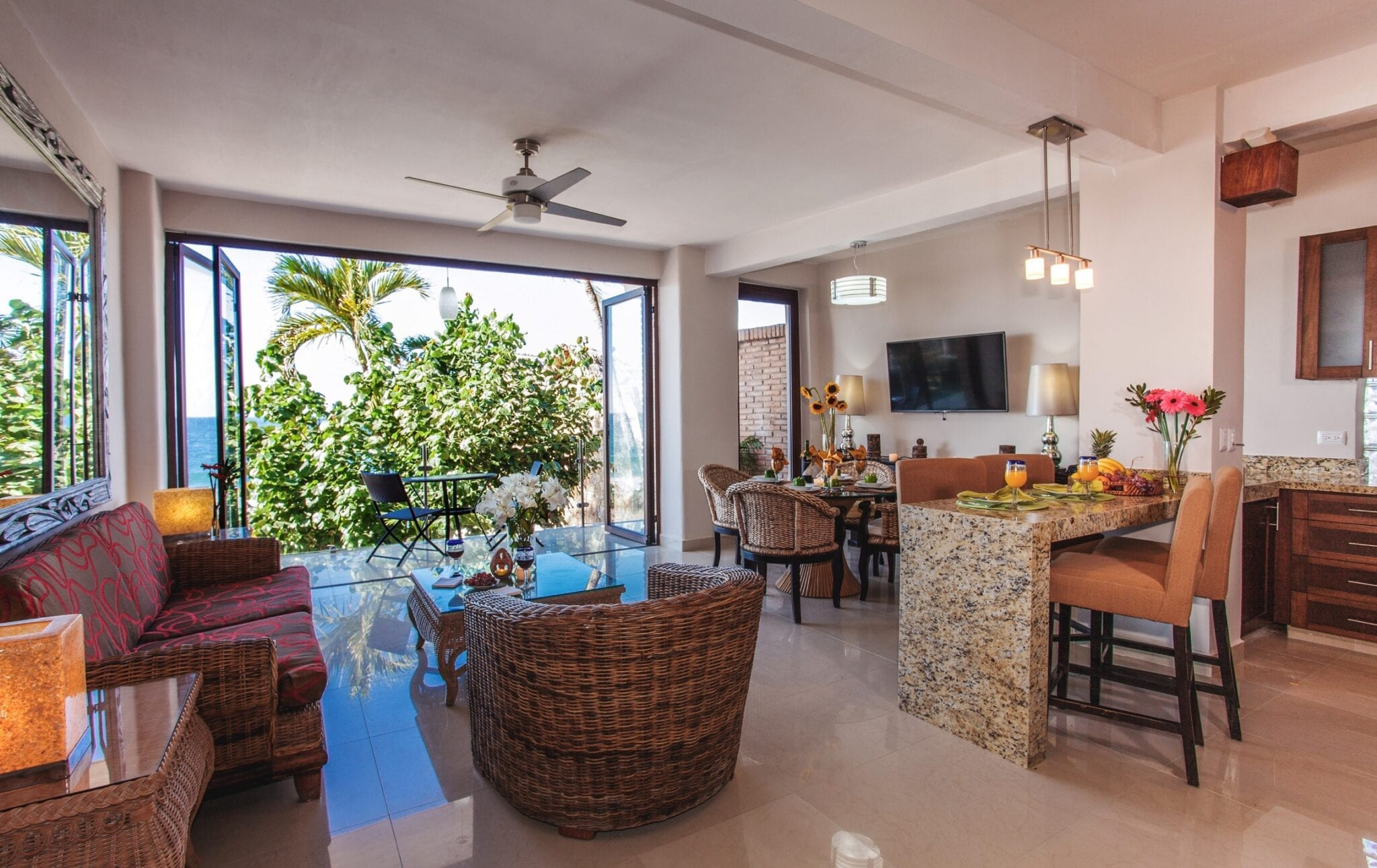 pv shores two bedroom suite balcony