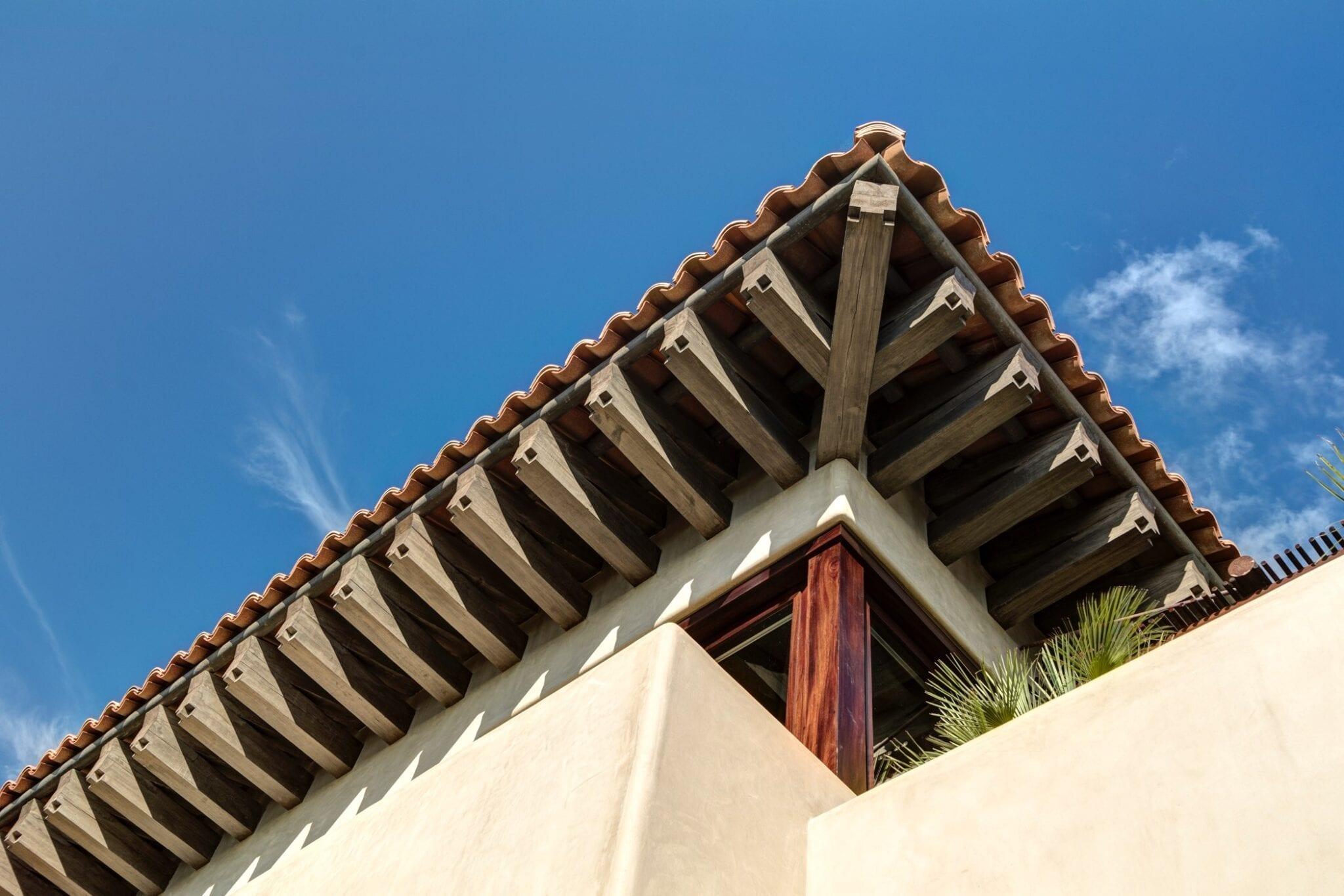 Casa Koko Detail Roof Wood Beams