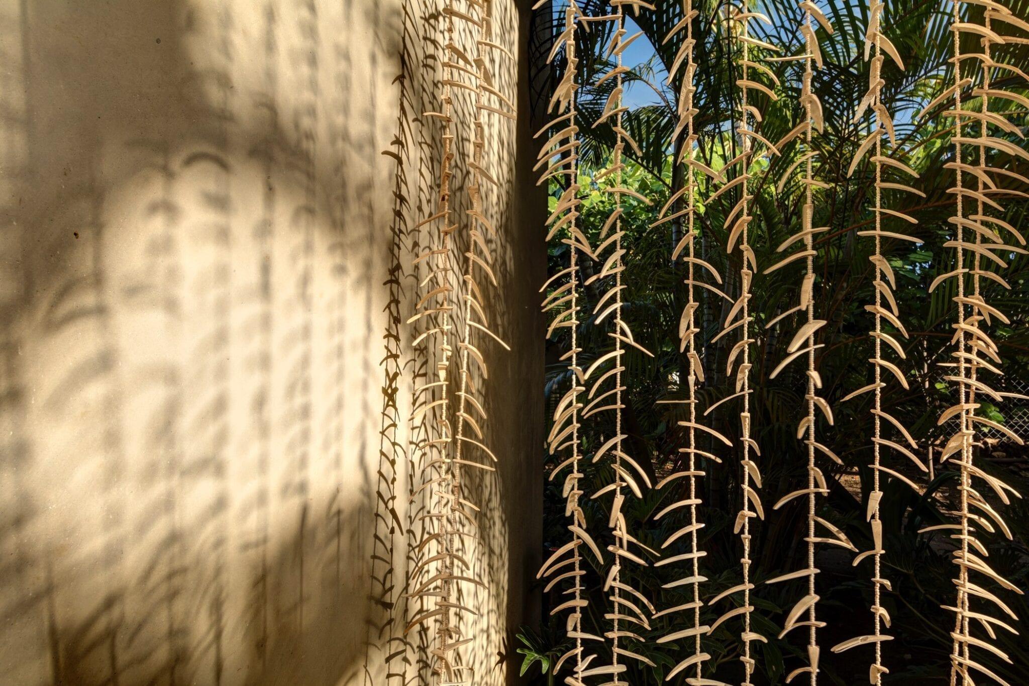 Casa Koko Detail Coconut Shells Curtain
