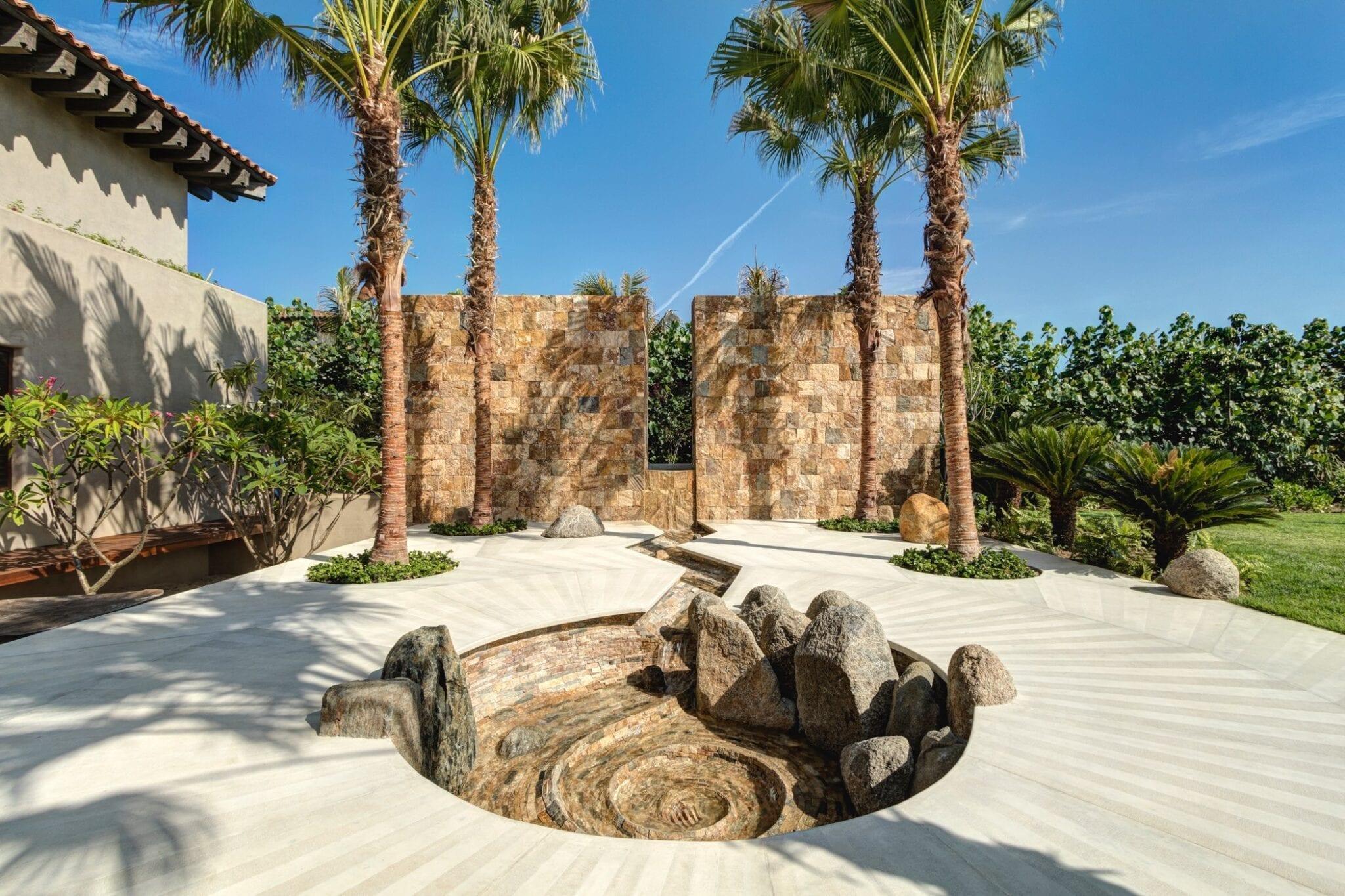 Casa Koko Entrance Fountain