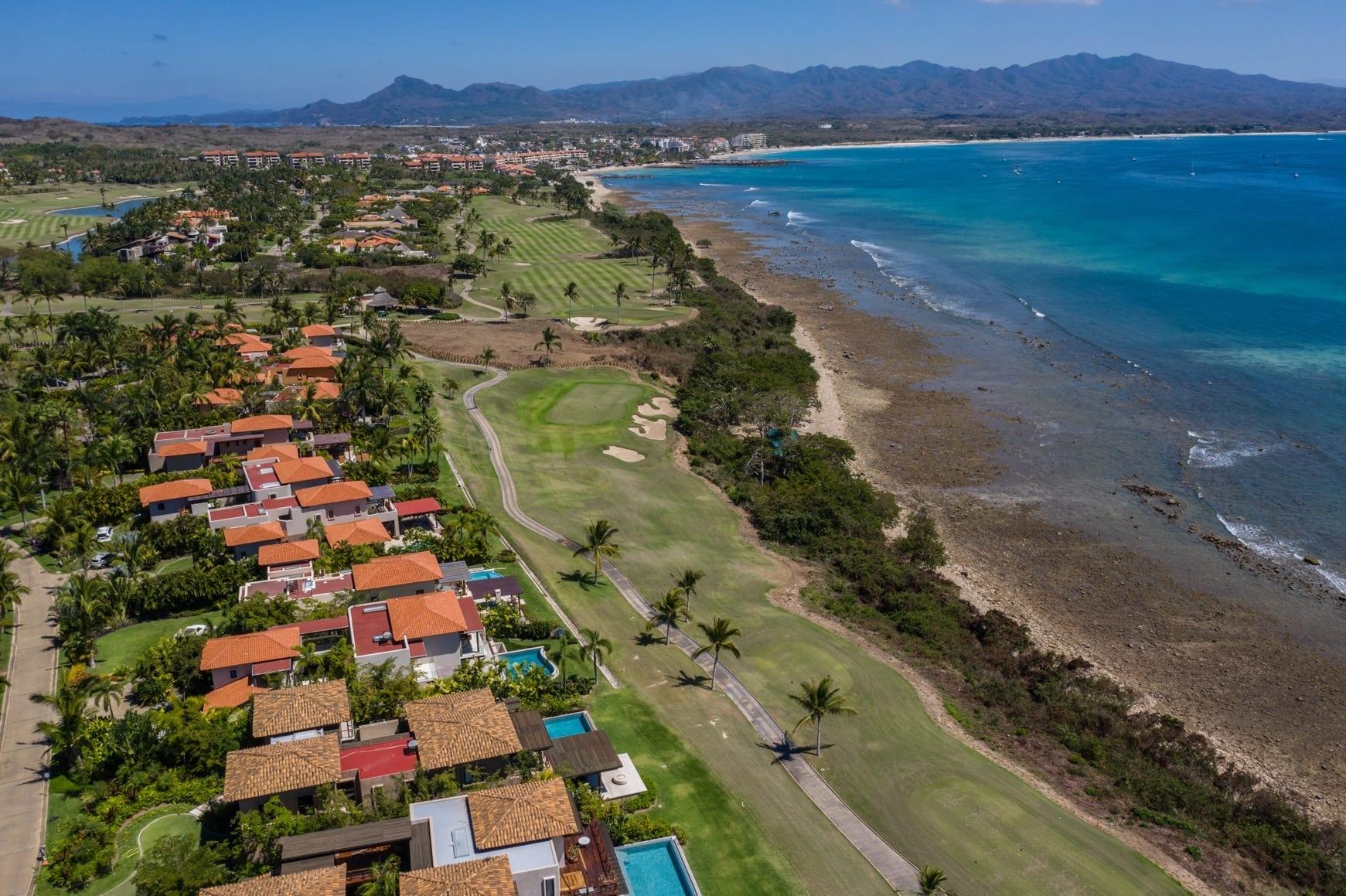 Villa Estrella Elencanto Punta Mita Drone