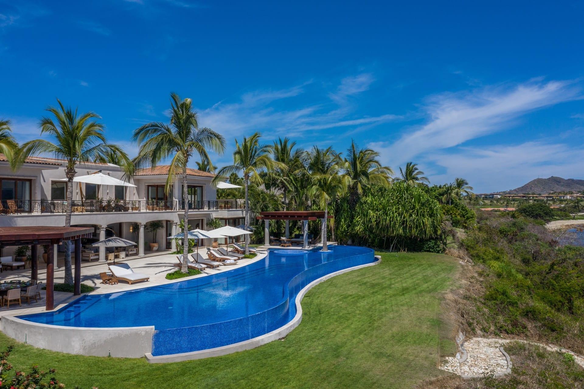 Villa La Vida Punta Mita Drone