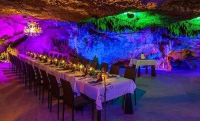 Fine Dining inside a Mayan Cavern- Alux Playa del Carmen!