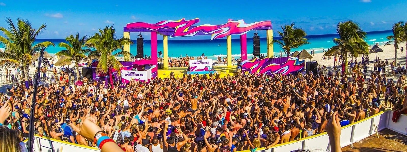 Cancun Spring Break Festival