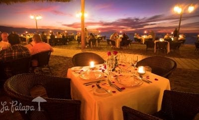 Review of Restaurant la Palapa in Puerto Vallarta!